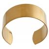 Brass Cuff Bracelets Flat Band 1in - Individual